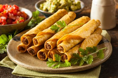 8 Restaurant Delicacies You Can Make At Home by Restaurant Style Taquito Recipes You Can Make At Home