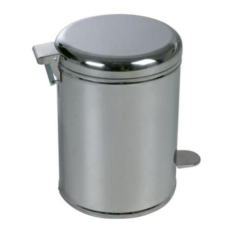 stainless steel bathroom trash can ikea bathroom pedal bin trash can stainless steel new ebay
