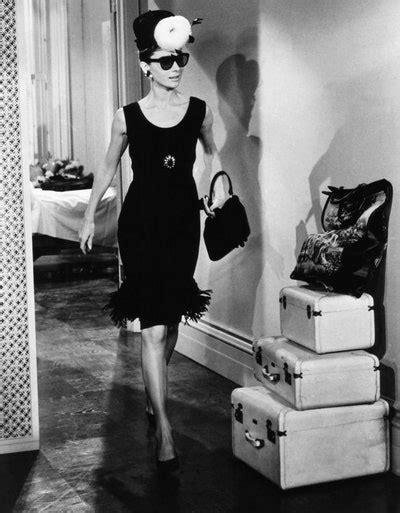famous  black dresses audrey hepburn jackie