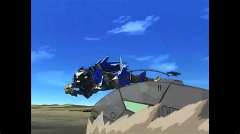 Kaos Anime Liger Zero zoids new century liger zero jager vs warshark