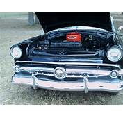 1954 Ford Crestline Victoria Two Door Hardtop BlkWht
