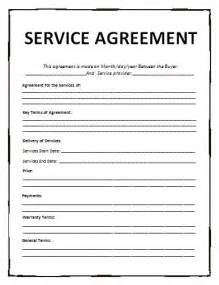 fee for service contract template agreement templates free word templates general