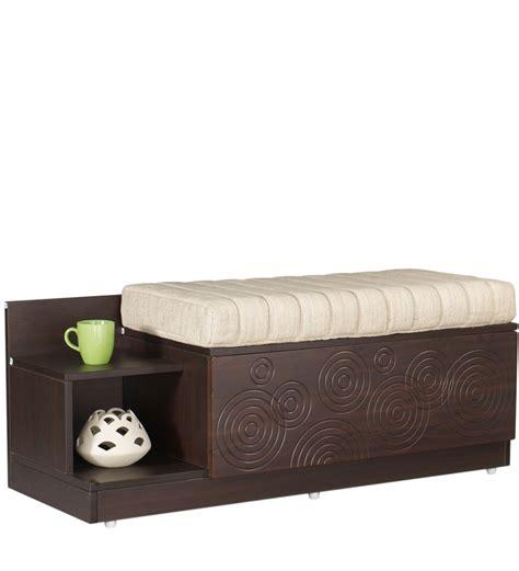 godrej interio flutter seat cum storage unit in cinnamon colour by godrej
