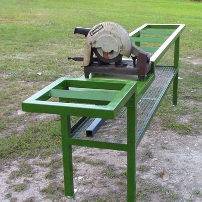 Designed 2 Build Project Chop Saw Table