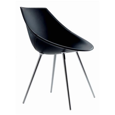 chaise starck chair leather driade lago design philippe starck progarr