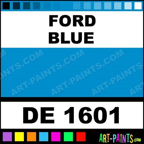 ford blue engine enamel paints de 1601 ford blue paint ford blue color dupli color engine