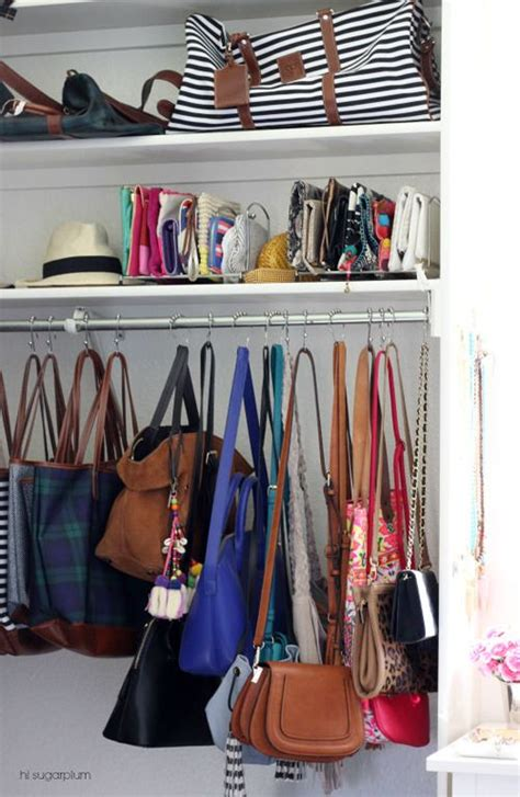 Best Way To Store Purses In Closet by 1000 Ideas About Purse Display On Display