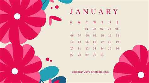 january  calendar wallpapers wallpaper cave