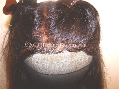 illisuion glue for weave partial hairpieces for receding hairline quality hair