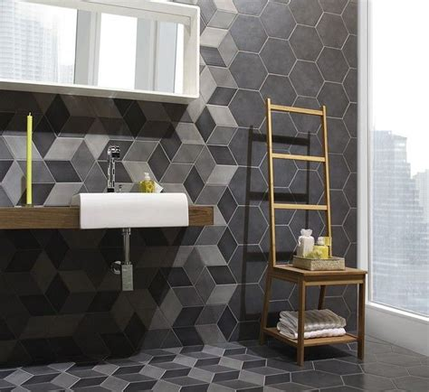 Decorating Ideas For 28 Gorgeous Modern Geometric D 233 Cor Ideas For Bathrooms