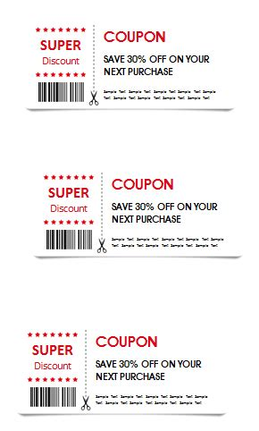 coupon cards template word gift coupon template templates for microsoft 174 word