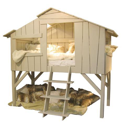 cabin bed with futon kids treehouse single cabin bed in artichoke cuckooland