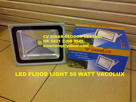 Lu Sorot 100w Led Flood Light 1 merk sinar glodok lestari vacolux