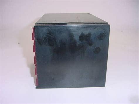 ohmite resistor cabinet vintage bakelite ohmite devils resistor cabinet