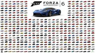 Forza Meaning Xbox One S Forza 6 Goes Gold All 460 Cars Revealed Demo