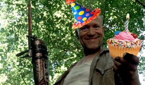 Walking Dead Happy Birthday Meme - happy birthday the walking dead merle cupcake party