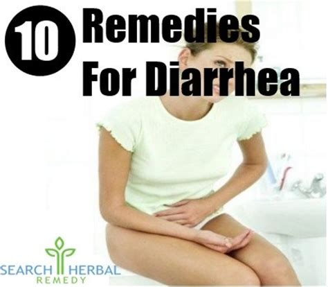 10 remedies for diarrhea treatments and cure for