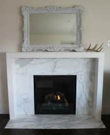 Marble Fireplace Surround The Granite Gurus Before After Calacatta Gold