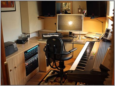 home recording studio desk uk page home design