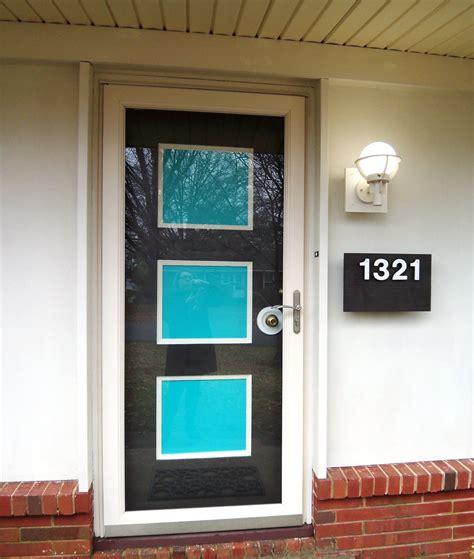 Glass Panel Front Door Modern Front Door With Glass Panel Door Three Panel Door