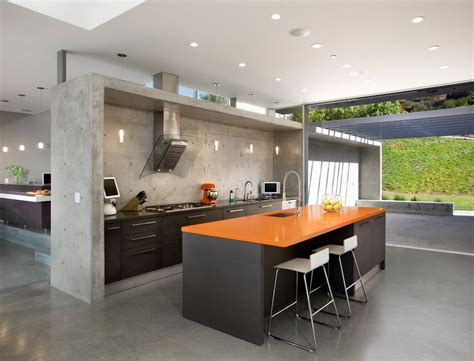 kitchen modern 11 amazing concrete kitchen design ideas decoholic
