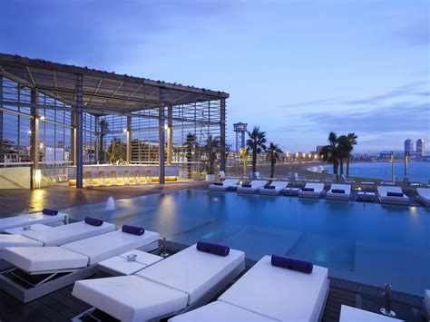 terrasse w barcelona architecture photography w barcelona hotel ricardo
