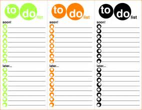 will sle template 8 excel to do list template bookletemplate org