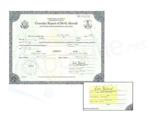 Consular Record Of Birth Abroad 17 Best Ideas About Certificate Of Birth On Dean Style Dean