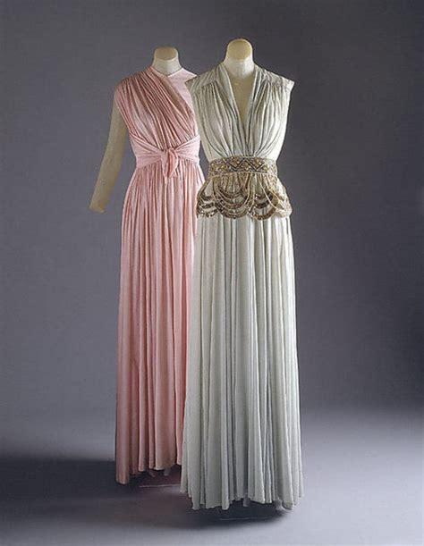 Dress Aa madame gres 1939 vintage fashion greece i