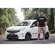 GETTINLOW  Kiki Anugrahas 2014 Toyota Agya TRD