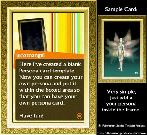 persona 4 card penalty persona card template by liloaznangel on deviantart