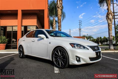 lexus cvt lexus is350 on vossen cvt directional wheels