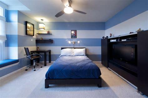 wäschekommode mit türen dekor blau schlafzimmer