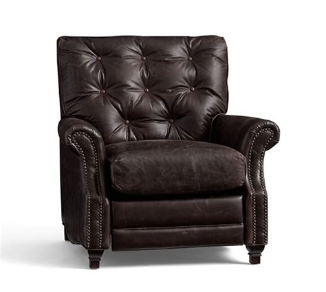 pottery barn leather recliner pottery barn sale up to 30 off recliners sofas