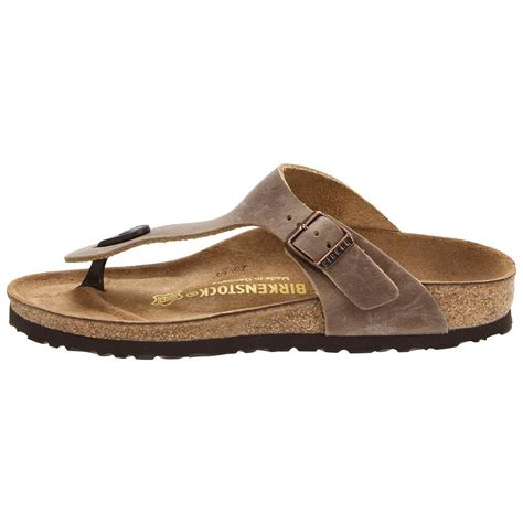 Comfortable Shoes With Arch Support Birkenstock Women S Gizeh Oiled Leather Sandals Cstyleswomen