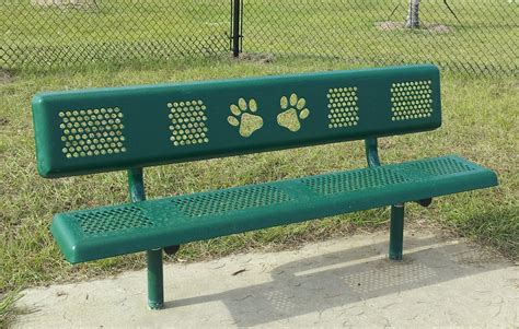 puppy bench basic dog paw bench