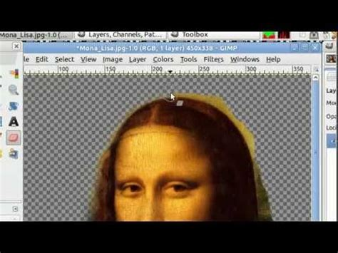 gimp tutorial remove background gimp tutorial removing an object from an image doovi