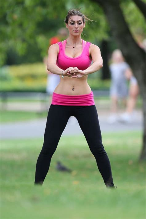 luisa zissman spandex  working    london park august