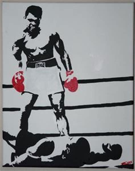 muhammad ali stencil felt martin luther king jr stencils on stencil revolution