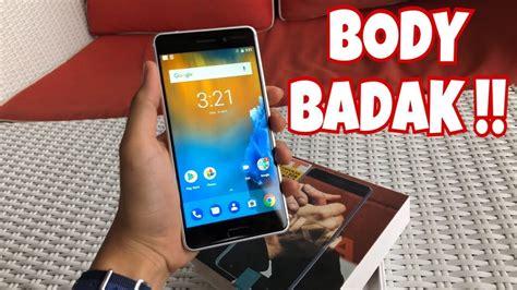 unboxing on nokia 6 badak nya smartphone nih