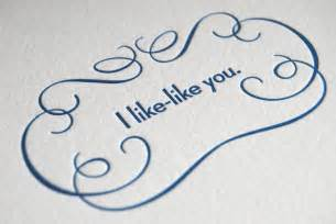 i like like you card by farewellpaperie on etsy