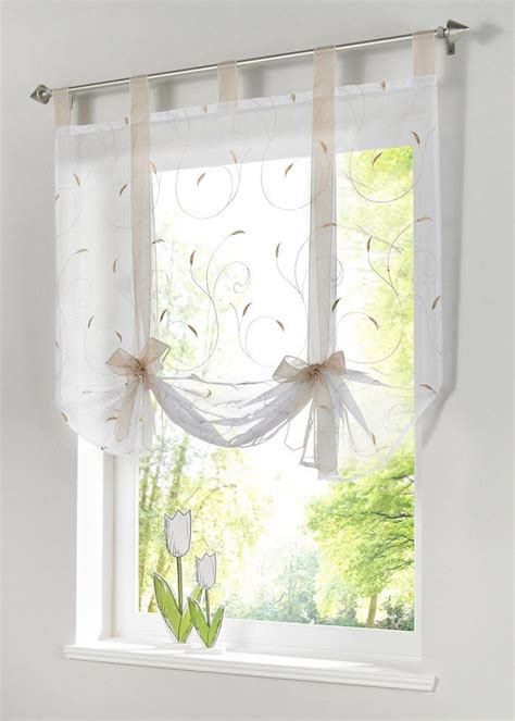 17 best ideas about tie up curtains on
