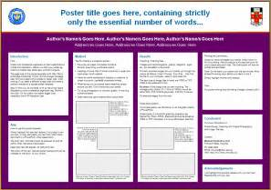 scientific poster presentation template civl 1112 poster presentation