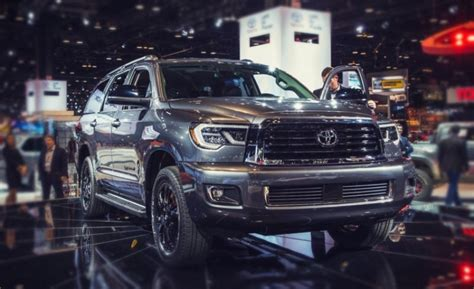 toyota sequoia 2019 redesign 2019 toyota sequoia redesign release date price new