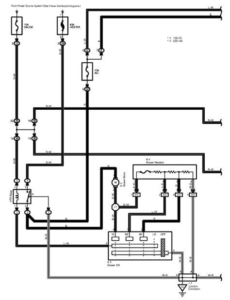 1999 cadillac heater blower motor wiring diagram