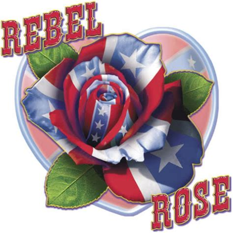 rebel flag rose tattoos rebel clip at clker vector clip