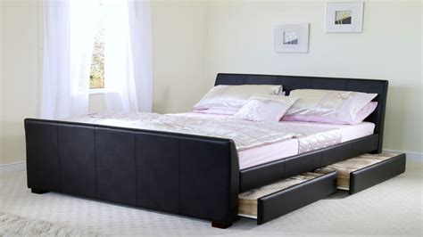 cool king size beds cool modern beds  wood bed frames