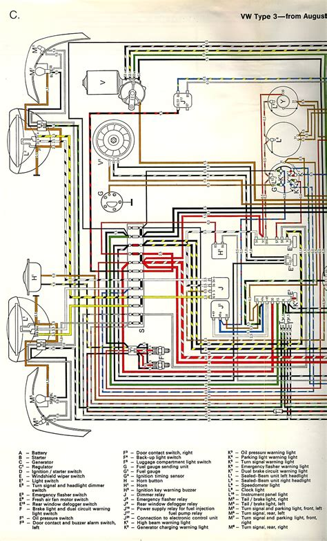 1971 vw beetle wiring diagram high resolution