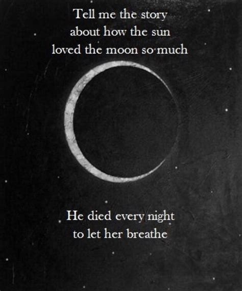 and tell the of narration quot tell me the story about how the sun loved the moon so