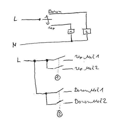 jalousie trennrelais schaltplan wozu trennrelais bei rolladensteuerung mikrocontroller net